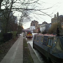 Photo taken at Grand Union Canal -  Maida Hill by Harold D. on 12/13/2011
