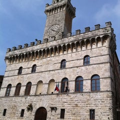 Photo taken at Piazza Grande by AndyTheJoker on 4/30/2011