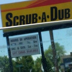 Photo taken at Scrub-A-Dub Car Wash by Stephen H. on 5/29/2012