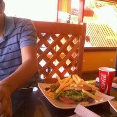 Photo taken at Sandwich El Uno by Alejandra V. on 1/20/2012