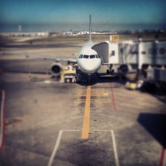 Photo taken at Gate D39 by Audunn J. on 6/23/2012