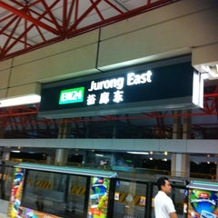 Photo taken at Jurong East MRT Interchange (NS1/EW24) by Terence L. on 1/6/2011