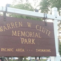 Photo taken at Warren W. Clute Memorial Park by Mary L. on 8/31/2012