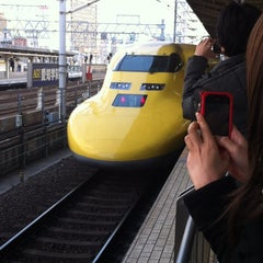 Photo taken at JR 名古屋駅 新幹線ホーム by Tetsuo T. on 3/19/2012