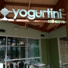Photo taken at Yogurtini by Glenn B. on 5/18/2011