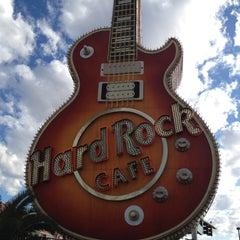 Photo taken at Hard Rock Cafe Las Vegas at Hard Rock Hotel by Steffi S. on 12/17/2011