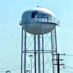 Photo taken at Gate 3 Savannah Port by James H. on 5/23/2012