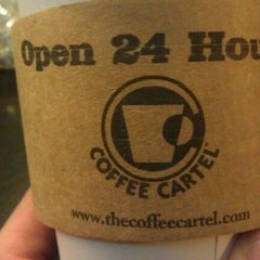 Photo taken at Coffee Cartel by Chris S. on 12/31/2011