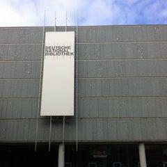 Photo taken at Deutsche Nationalbibliothek by Claudia K. on 9/19/2011