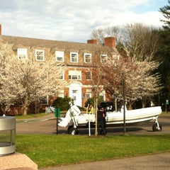 Photo taken at Olin Hall by Mariana R. on 4/4/2012