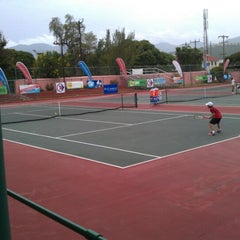 Photo taken at Tennis Jamaica by Gladstone T. on 7/6/2012