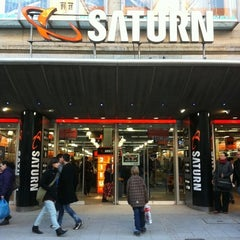 Photo taken at Saturn by ACHTUNG FUSSBALL™ on 1/6/2011