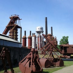 Photo taken at Sloss Furnaces National Historic Landmark by Davis G. on 5/11/2012