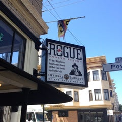 Photo taken at Rogue Ales Public House by Harley A. on 7/3/2012