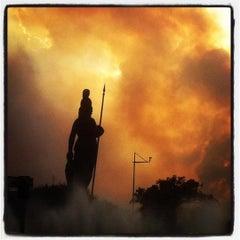 Photo taken at Glorieta Fuente La Minerva by Mauro C. on 4/30/2012