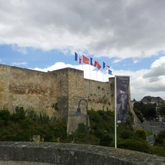 Photo taken at Château de Caen by Rob V. on 7/19/2012