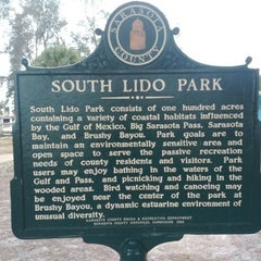 Photo taken at Ted Sperling Park at South Lido Beach by Sean M. on 2/17/2012