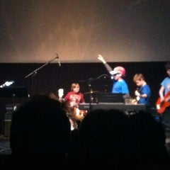 Photo taken at Wilmette Theatre by Sarah H. on 3/8/2012