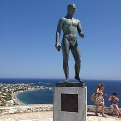 Photo taken at Άγαλμα του Μπρουκ (Brook's Statue) by George L. on 8/18/2012