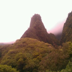 Photo taken at ʻĪao Valley State Park by Rachelle G. on 7/24/2012