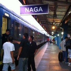 Photo taken at PNR (Naga Station) by Ea M. on 4/8/2012