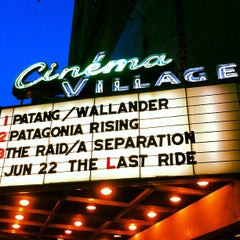 Photo taken at Cinema Village by Tarah F. on 6/17/2012