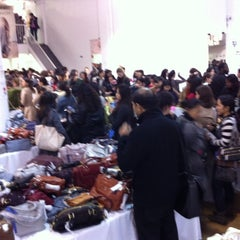 Photo taken at Rebecca Minkoff Sample Sale by Erin D. on 5/9/2012