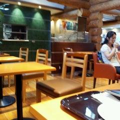 Photo taken at エクセルシオールカフェ 基山パーキングエリア下り店 by Kazutoshi Z. on 7/16/2012