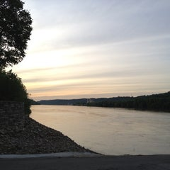Photo taken at Anderson Ferry by Alec D. on 5/12/2012