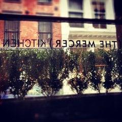 Photo taken at Mercer Kitchen by Alex M. on 7/4/2012