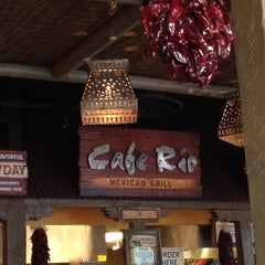 Photo taken at Cafe Rio Mexican Grill by maria s. on 4/11/2012