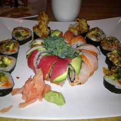 Photo taken at Banzai Sushi & Thai by Thomas L. on 3/22/2012