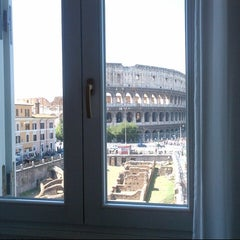 Photo taken at Hotel Gladiatori Palazzo Manfredi by MR on 9/8/2012