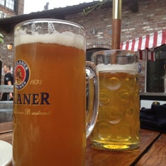 Photo taken at Pilsener Haus & Biergarten by Tamara L. on 7/15/2012