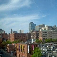 Photo taken at Hilton Garden Inn by Fernanda V. on 5/17/2012