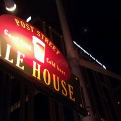 Photo taken at Post Street Ale House by Bryan B. on 1/2/2012