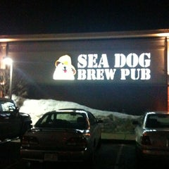 Photo taken at Sea Dog Brew Pub by Nicholas V. on 2/20/2011