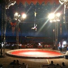 Photo taken at Carson & Barnes Circus by Eduardo A. on 8/14/2011