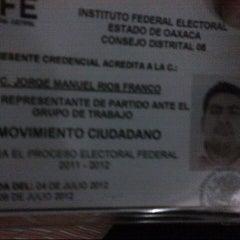 Photo taken at 08 Junta Distrital by Jorge F. on 7/5/2012