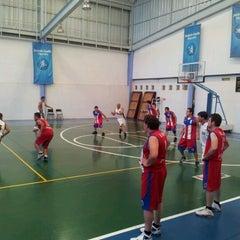 Photo taken at Deportivo Joaquín Capilla by Daniel R. on 6/24/2012