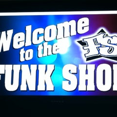 Photo taken at The Funk Shop by Byron C. on 9/14/2011