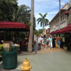 Photo taken at Lincoln Road Mall by Kitty D. on 7/12/2012