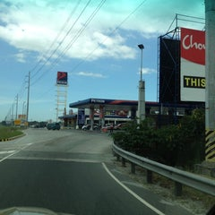 Photo taken at Petron Service Station by レーネ —. on 3/10/2012
