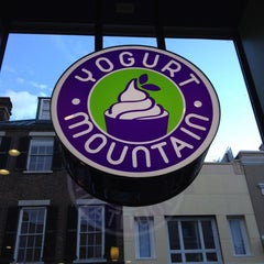 Photo taken at Yogurt Mountain by Jamie F. on 7/20/2012