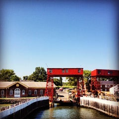 Photo taken at Governors Island Ferry by Tien M. on 7/3/2012