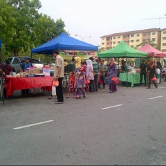 Photo taken at Bazaar Ramadhan Seksyen 7 by kumir a. on 8/14/2012