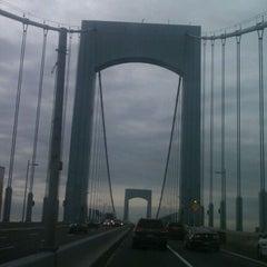 Photo taken at Throgs Neck Bridge by Russell K. on 11/15/2011