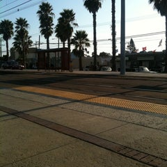 Photo taken at Palm Avenue Trolley Station by Oly L. on 9/5/2011
