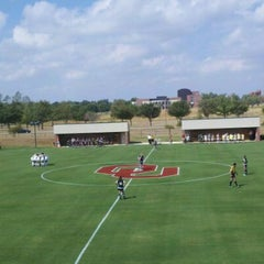 Photo taken at John Crain Field at the OU Soccer Complex by Tim K. on 9/17/2011