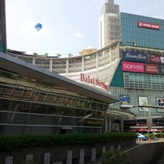 Photo taken at The Plaza Semanggi by Mocha I. on 4/27/2012